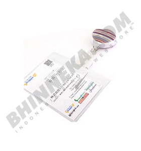 FIT Patterns Neck Cell Phone Strap - Stripe Earth Color [106-163047] - Gantungan Handphone